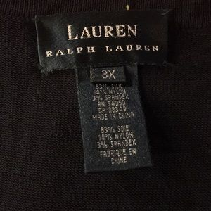 Ralph Lauren Cardigan and Tank Top